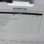 Accident File Folder