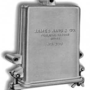 Aluminum License Box