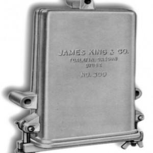 Aluminum License Box