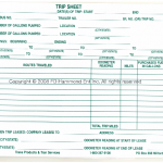Permit, Fuel Tax, Trip, & Expense