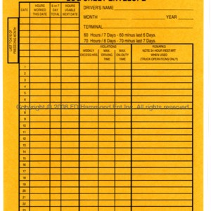Envelopes for Log Sheets-1150