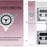 No. 4052 Driving of Motor Vehicles