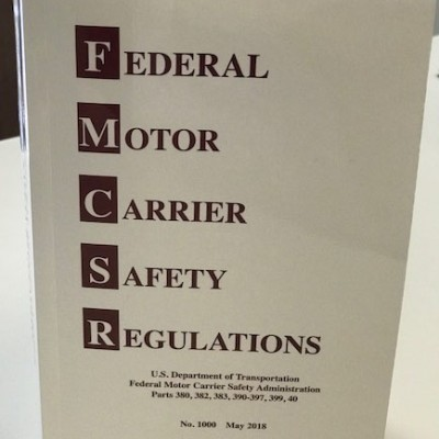 Federal Motor Carrier Safety Regulations - No. 1000